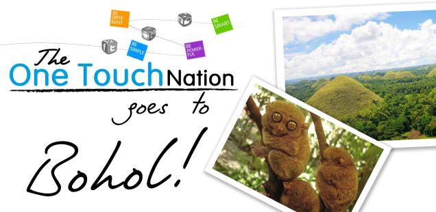 The OneTouch Nation Goes to Bohol